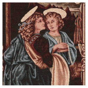 Angels of the Baptism of Christ tapestry 40x30 cm s2