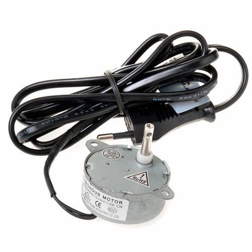 Motorino elettrico per movimenti presepe 1,2 W 10giri/min 2