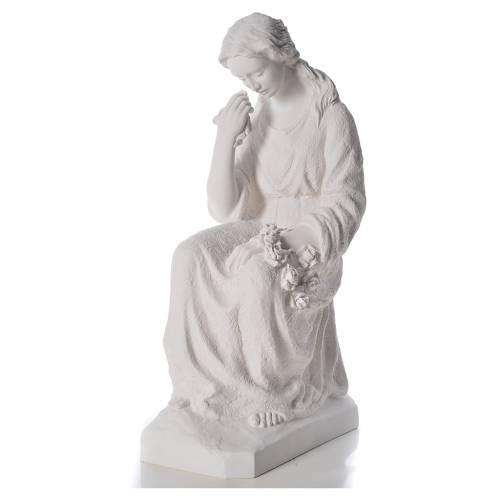 Addolorata 80 cm polvere di marmo s2