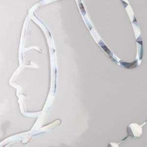 Adhesivo prismático Rosario y Virgen s4