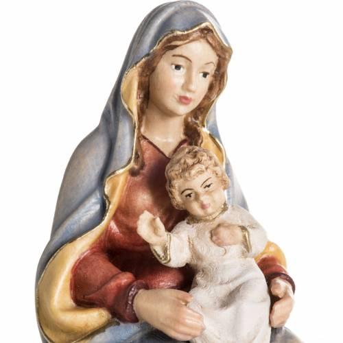 Adoration des Mages bois peint Val Gardena s9