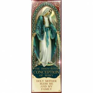 Magnets religieux: Aimant vierge, The Immacolate Conception of Mary - ENG 02