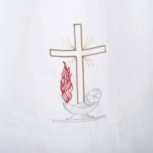 Alben: Albe Lampe und Kreuz, aus Wolle