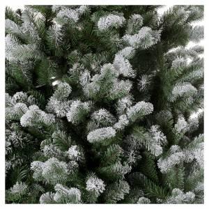 Albero di Natale 180 cm Poly floccato glitter Sheffield s2