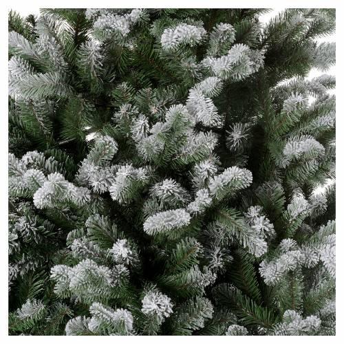 Albero di Natale 180 cm Poly floccato glitter Sheffield 2