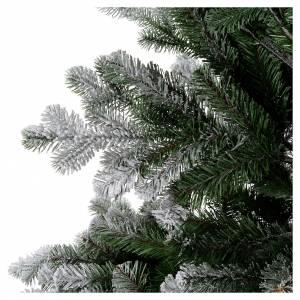 Albero di Natale 180 cm Poly floccato glitter Sheffield s5