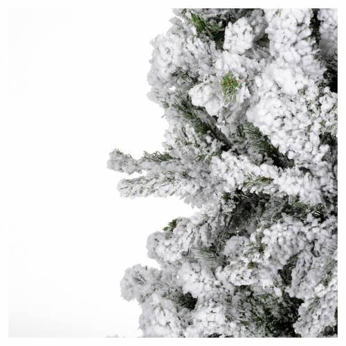 Albero di Natale 230 cm innevato Danzica s3