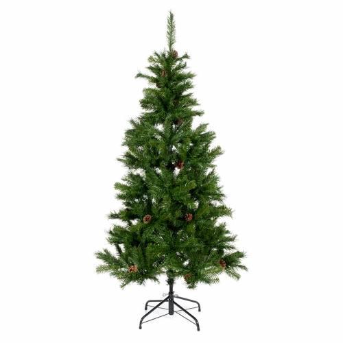 Albero di Natale 230 cm verde slim Tallinn s1
