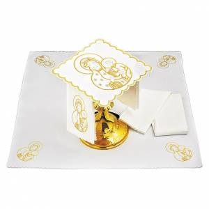 Altar linens: Altar linen Holy Mary with Baby Jesus
