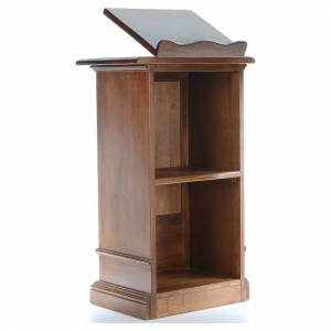 Lecterns: Ambo entirely in solid wood, hand carved H125cm