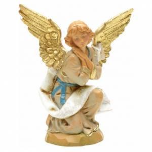 Santons crèche: Ange à genoux crèche 12 cm Fontanini