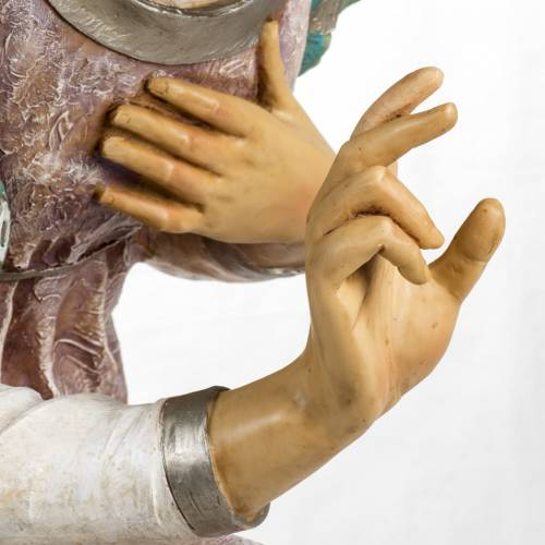 Ange à genoux crèche Fontanini 125 cm résin s6