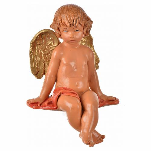Angeli seduti 4 pz Fontanini cm 12 s10