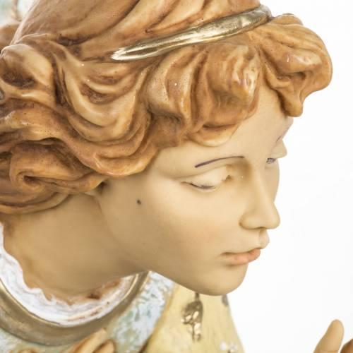 Angelo inginocchiato celeste 65 cm Fontanini s2