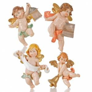 Angelots 7 cm Fontanini 20 pcs type porcelaine s4