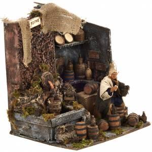 Animated nativity scene,  drunkard scene 12 cm s2