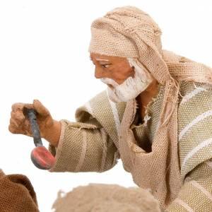 Animated nativity scene set, 4 characters 12 cm s8