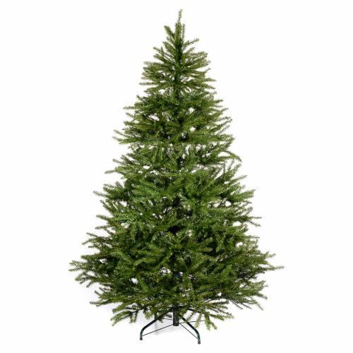 Arbol de navidad 230 cm verde aosta venta online en holyart for Arbol navidad verde
