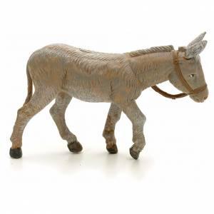 Animali presepe: Asino in piedi 12 cm Fontanini