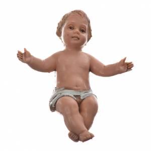 Baby Jesus nativity figurine, 10cm Moranduzzo s1