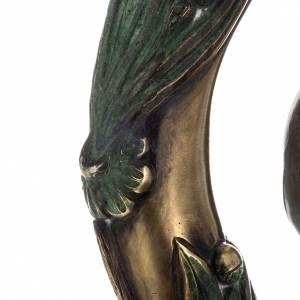 Báculo en plata 966/1000 en galvanoplastia mod. Bronceado s7