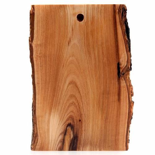 Bajorrelieve madera rostro de Cristo ojos abiertos s3