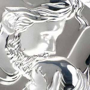 Bajorrelieves de plata: Bajorrelieve plata María y José que abraza Jesus