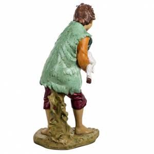 Statue per presepi: Bambino con agnello 125 cm resina Fontanini