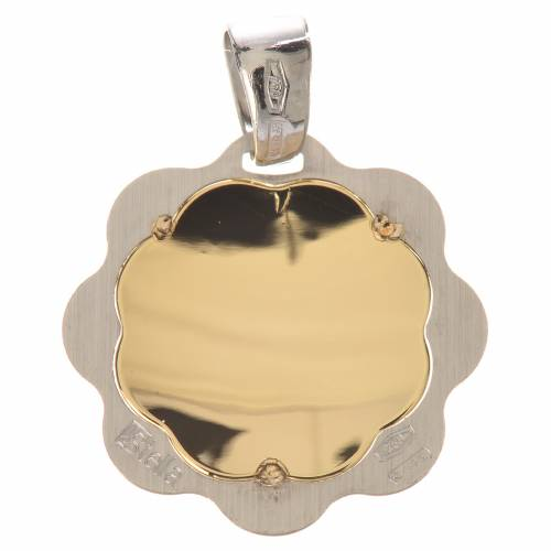 Baptism pendant in 18K gold, 1,48 grams s2