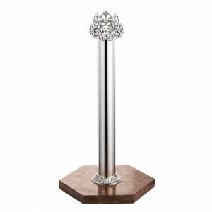 Base per croce astile marmo rosso di Verona s1