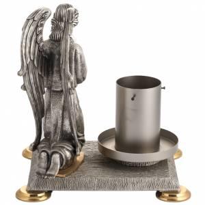 Base portacero pasquale bronzo con angelo s6