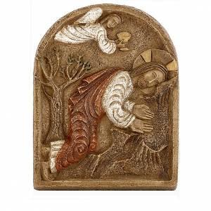 Bassorilievi pietra: Bassorilievo Gesù nell'orto degli ulivi