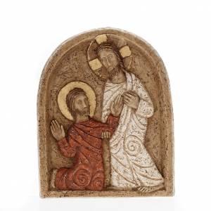 Bassorilievo pietra Resurrezione Bethléem s1