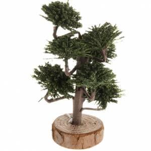 Moos, Stroh und Bäume für Krippe: Bäumchen für Krippe 12 cm