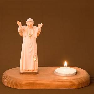 Benedict XVI on wooden base s2