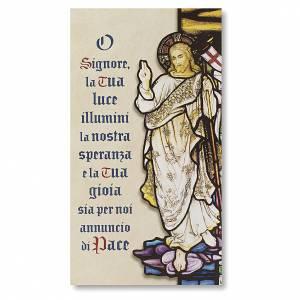 Benedizione delle Famiglie Cartoncino Resurrezione di Cristo ITA s1