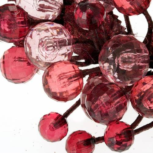 Berries and glitter garland s6