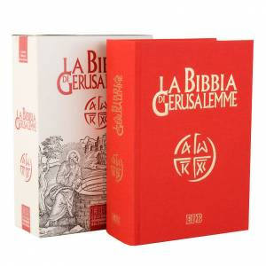 Bibbia Gerusalemme tela rossa Nuova Traduzione s1