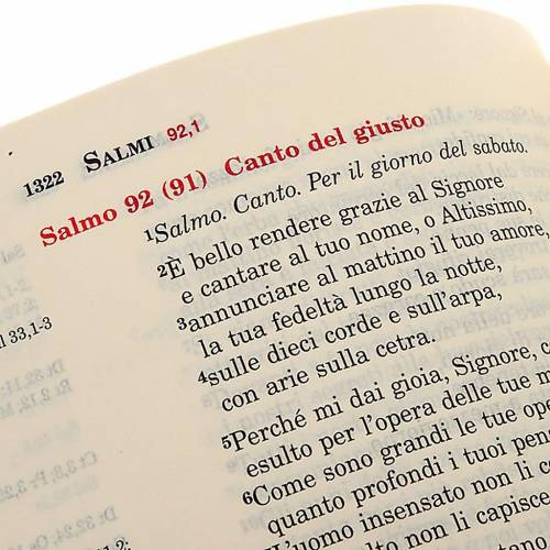 Biblia de Jerusalén de bolsillo LENGUA ITALIANA s2
