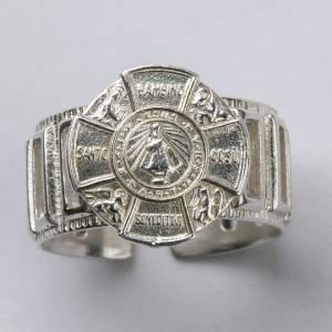 Bishop's Ring made of silver 800, Baby Jesus s4