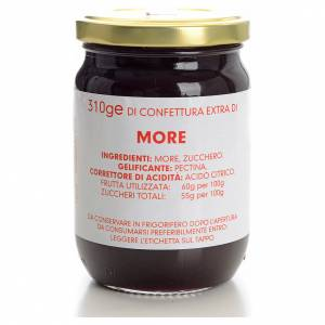 Jams and Marmalades: Blackberry jam of the Carmelites monastery 310g