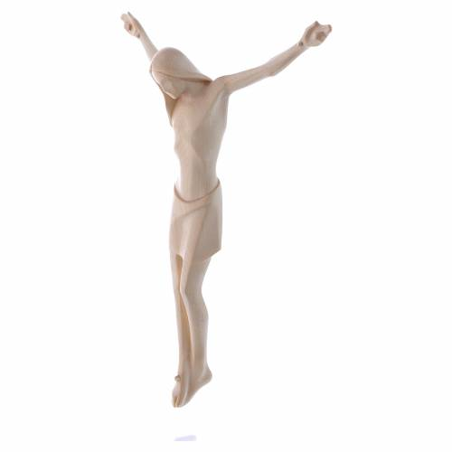 Body of Christ, Corpus in Valgardena wood, natural wax s2