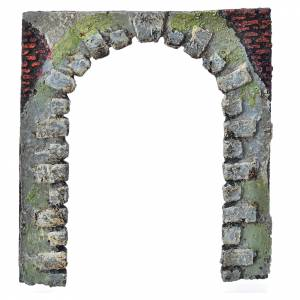 Türen, Geländer: Bogen-Tür für Selber-Bauen-Krippe 16 cm hoch