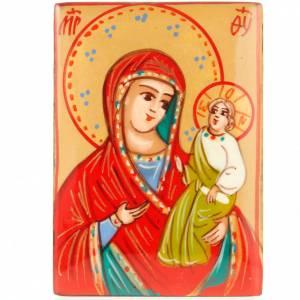 Boite à chapelet icône Vierge à l'enfant s2
