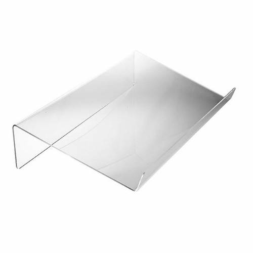 Book stand in plexiglass, 3mm rounded s1