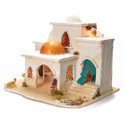 Borgo arabo per presepe 37X20X50 cm s3
