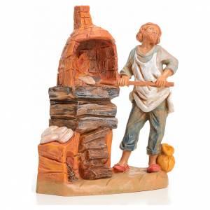 Santons crèche: Boulanger crèche 9,5 cm Fontanini