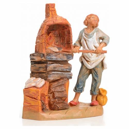Boulanger crèche 9,5 cm Fontanini s1