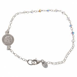 Bracelet argent 800 et Swarovski s1