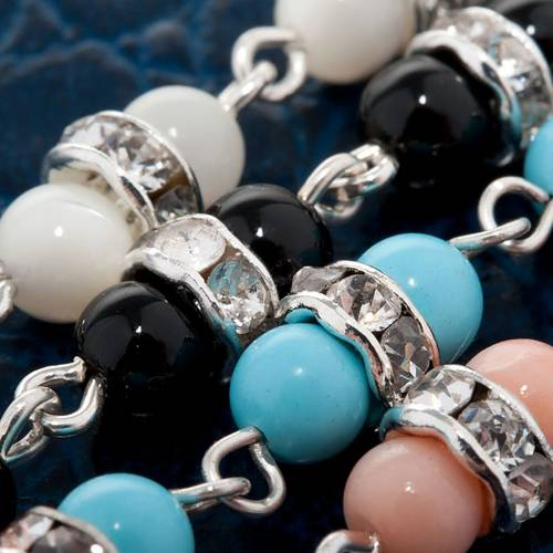 Bracelet argent et pierres dures s2